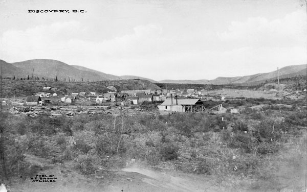 Discovery Townsite in 1909