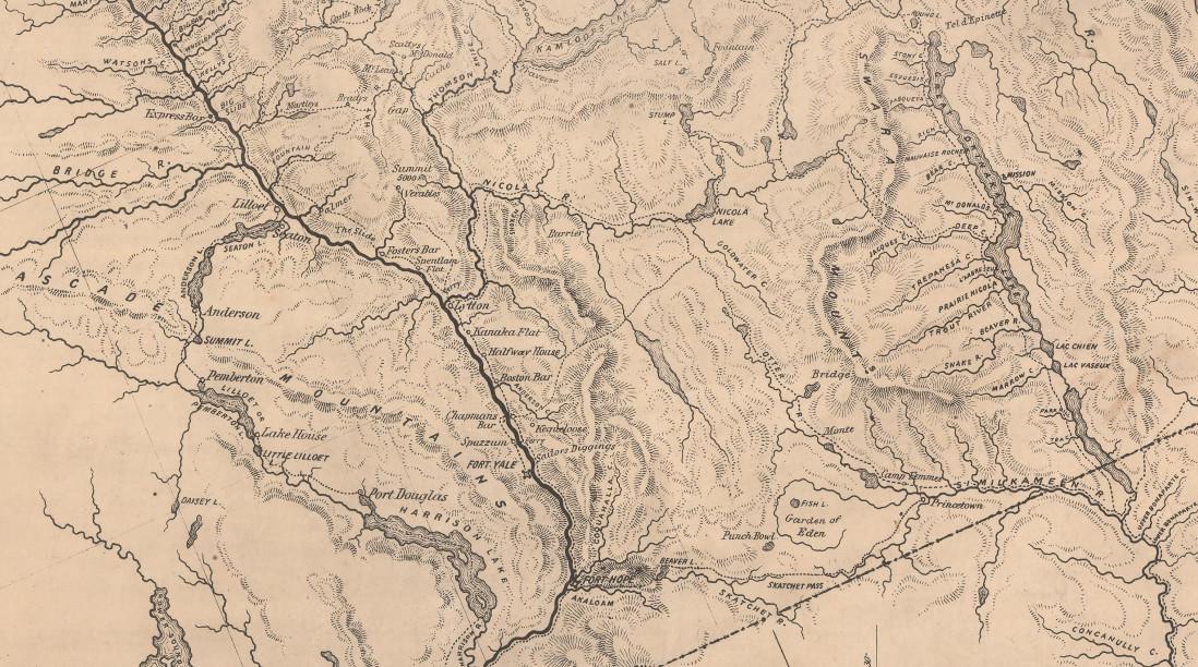 Lower Fraser River Circa 1862