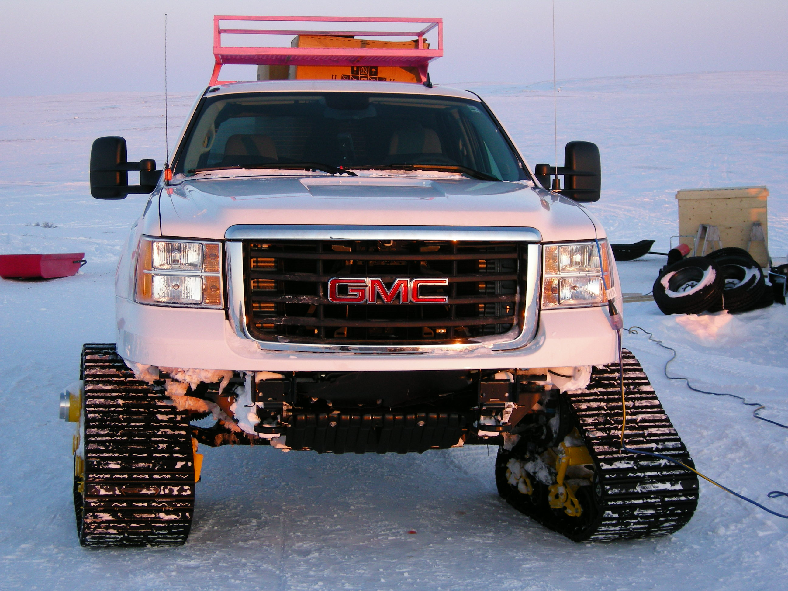 GMC Track Truck