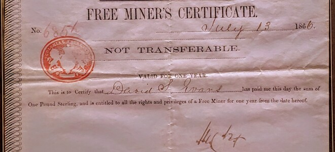 What does it mean to be a Free Miner?