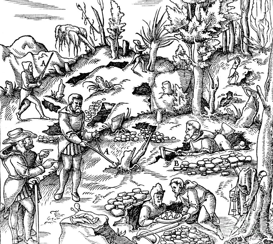 mining in medieval europe